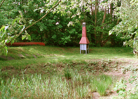 Garten der Fischerwiege am Passader See