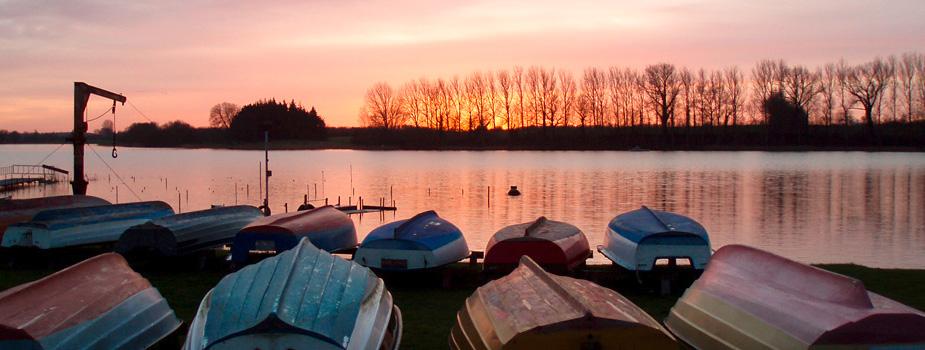 Boote am Passader See