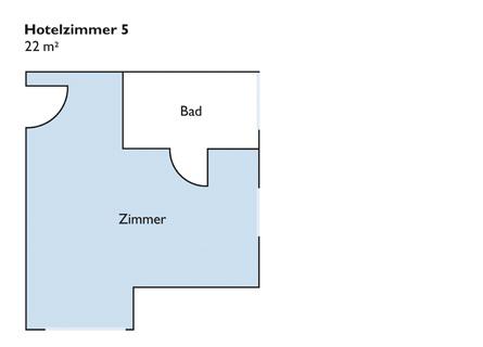 Plan von Zimmer 5