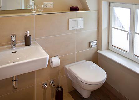 Badezimmer in ZImmer 6