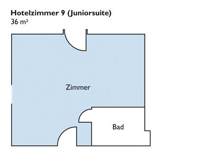 Plan von Zimmer 9